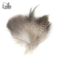 150x Natural Mallard Duck Flank Feathers 5 7cm Wild Goose Hair Lemon Wood Duck For Fly