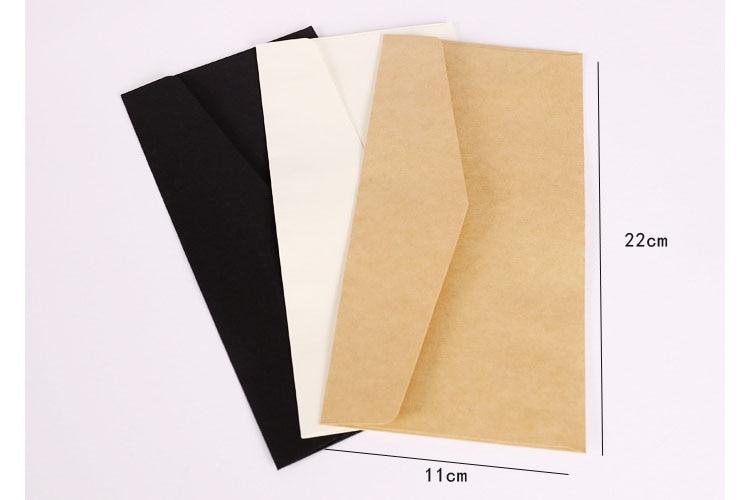12pcs/lot #5 Business Letter Envelope Greeting Card Envelope Printing