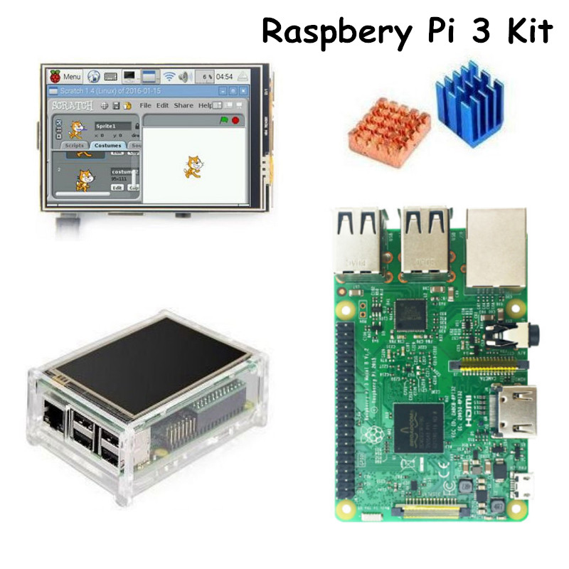 Raspberry Pi 3 Model B With 3.5