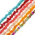 Нестандартные бусины для бижутерии, 5*6*3 мм, 15 дюймов