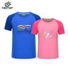 TECTOP Summer Outdoor sports T-shirt Boys girls Sports leisure Quick-drying T-shirt Children Camping drifting Quick dry t-shirts