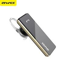 Haut de Gamme AWEI A850BL Écouteur Mains Libres Avec Micro Sans Fil Mini Ecouteur Bluetooth Mono Écouteur Pour Téléphone Earpods Bluetooth