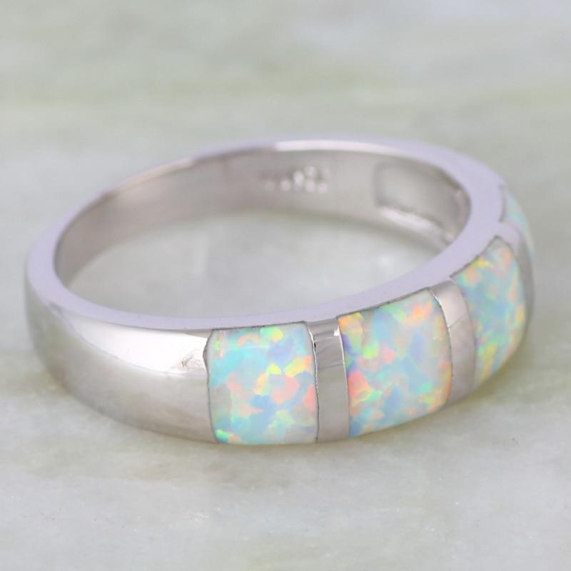"""Madingi """"Opalo"""" žiedai Papuošalai iš moteriško žiedo - Mados papuošalai - Nuotrauka 3"""