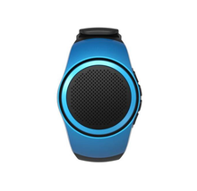 Bluetooth Sports Music Wireless Bluetooth Smart  Watch Mini Subwoofer Speaker Support TF Card FM Audio Radio Speakers MP3 Player