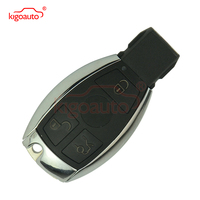 Smart key remote 3 button 315Mhz for Mercedes Benz chrome side