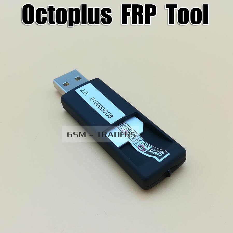 Detail Feedback Questions about 2019 Original Octoplus frp tool