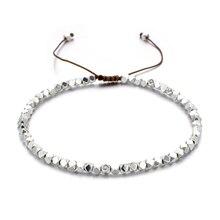 ZMZY, ручная работа, плетеные бусины, браслеты в богемном стиле, тонкие браслеты и браслеты, женские пляжные ювелирные изделия, регулируемые подвески, подарки дружбы