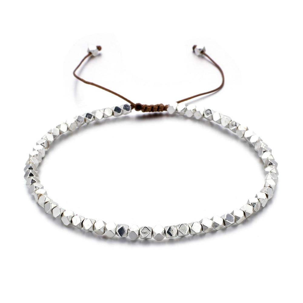 ZMZY Handmade Weave Beads Bracelets Bohemia Seed Thin Bracelets & Bangles Women Beach Jewelry Adjustable Charms Friendship Gifts