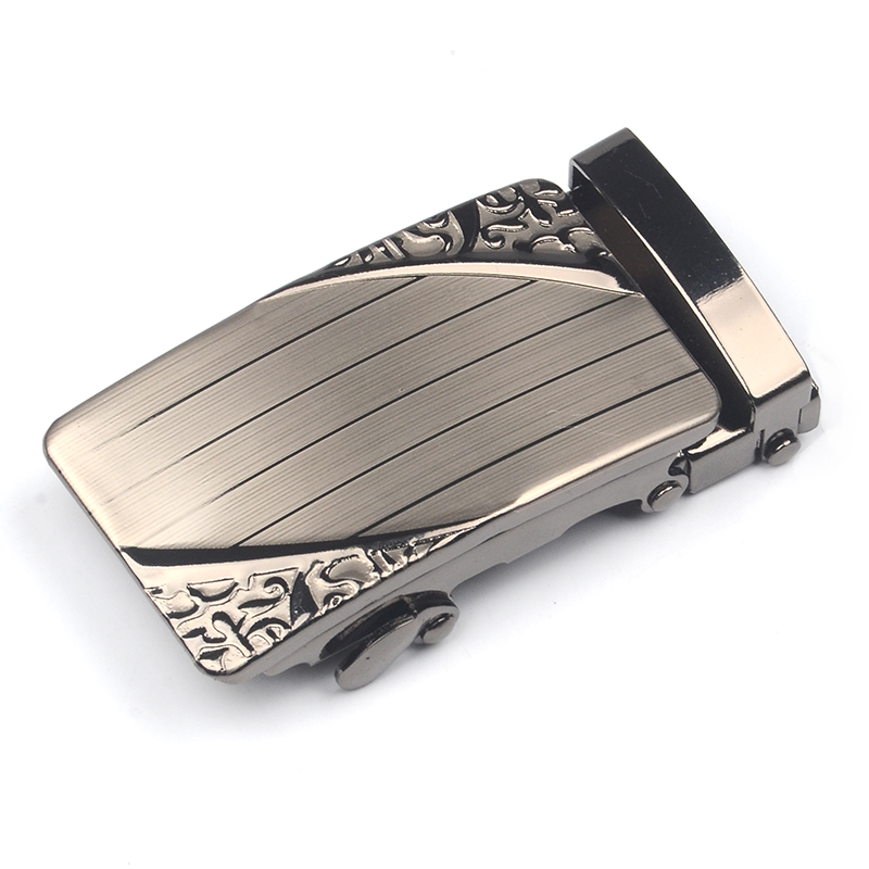 Fashion Men's Business Automatic Buckle Unique Men Plaque Belt Buckles For 4.0cm Ratchet Men Apparel Accessories