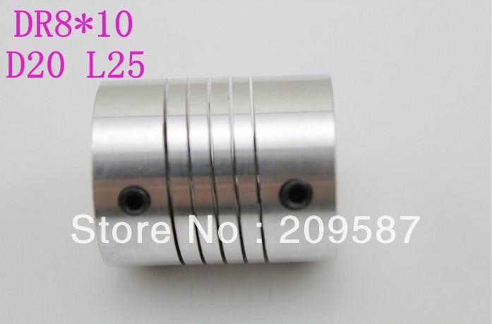 BR 10mm x 14mm D30L42 Flexible Coupling Shaft Coupler Encode Connector CNC