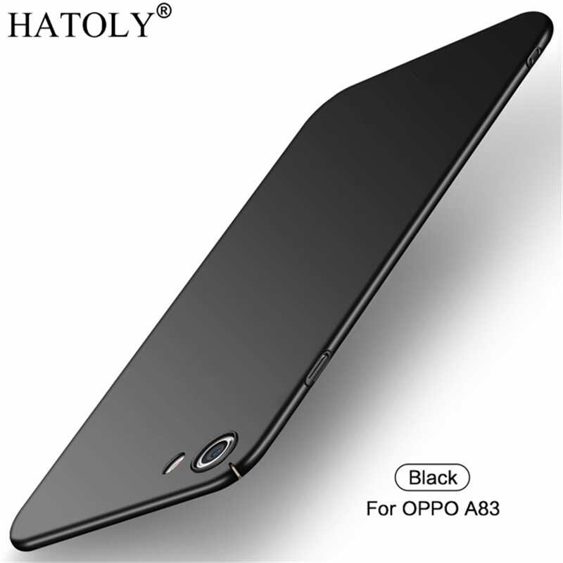For OPPO A83 Case oppo a83 a 83 Ultra-thin Smooth Cover Hard PC Protective Back Case for OPPO A83 Free Shipping HATOLY