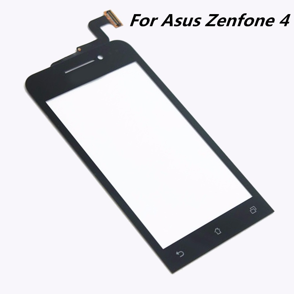 все цены на  For Asus Zenfone 4 (A400CG) 4 inch Glass Capacitive sensor Digitizer Touch Screen Panel Sensor Lens Glass Replacement Free Ship  онлайн