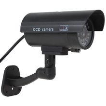 3pcs Waterproof CCTV False Emulational Outdoor Dummy Security Camera Decoy with IR Wireless Blinking Red LED