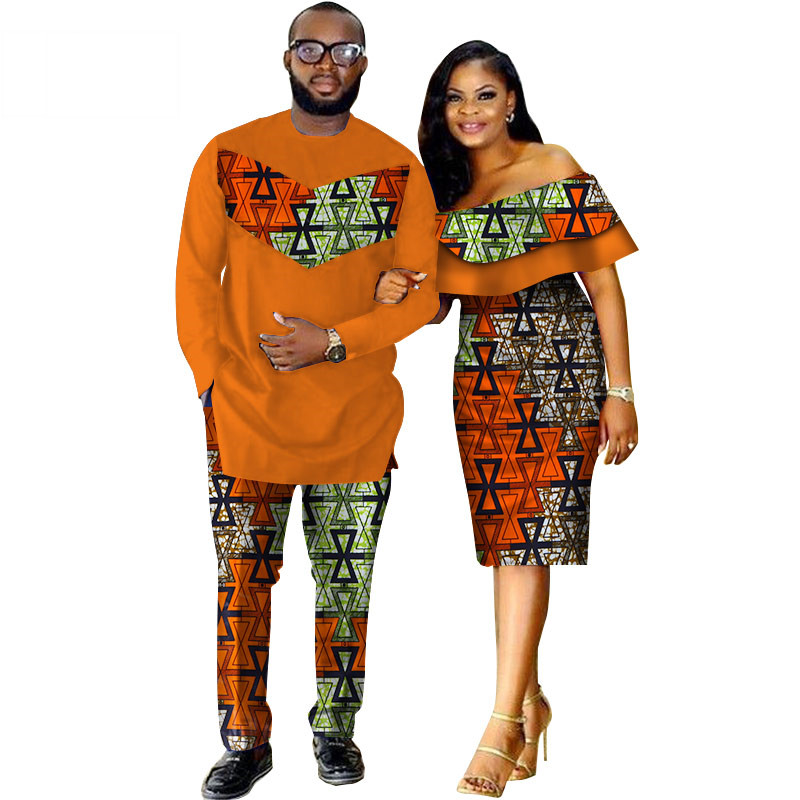 African-Dashiki-Print-Couple-Clothing-for-Lovers-Two-Piece-Set-Men-s-Suit-Plus-Women-s(12)