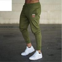 2019 мужские брюки однотонные спортивные штаны спортивные тренировочные штаны тренажерные залы качественные беговые Штаны для бодибилдинга...