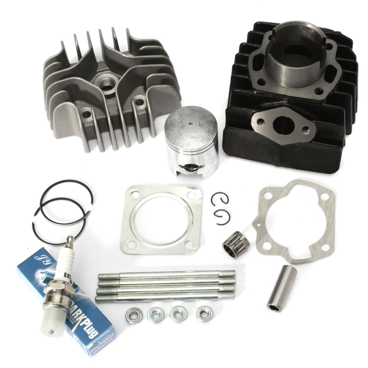 Cylinder Piston Ring Gasket Top End Kit For Suzuki Quadrunner LT50 1984-1987 11210-04012-0F0 11111-04001 12110-43000
