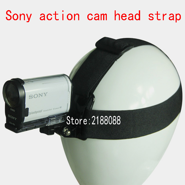 Head Belt StrapTripod Adapter Mount for Sony RX0 FDR X3000 X3000R X1000 HDR AS300 AS200 AS100 AS50 AS30 AS20 AS15 Action Camera-in Sports Camcorder Cases from Consumer Electronics