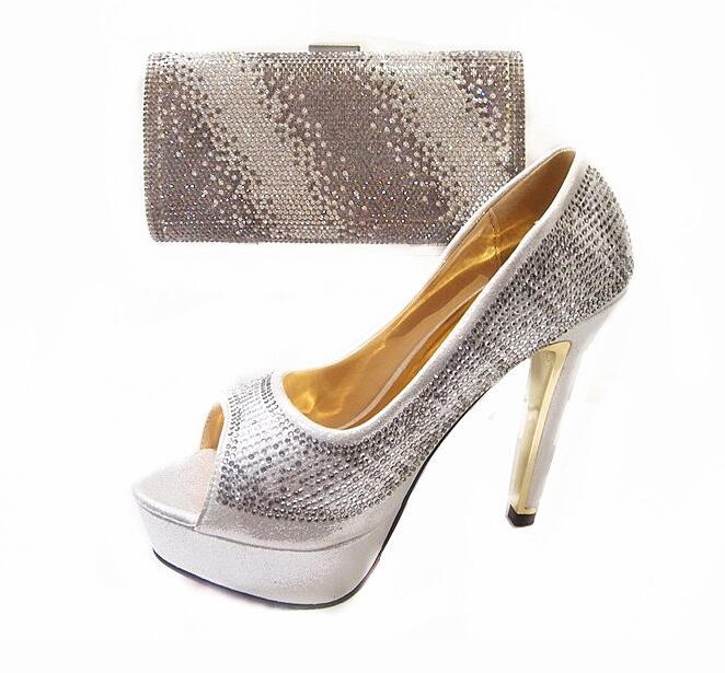 ФОТО Fashion Shoes and Bag To Match Italian Desige Wedding Shoes and Bag High Heels Summer African Style Shoes and Bag Set JA112