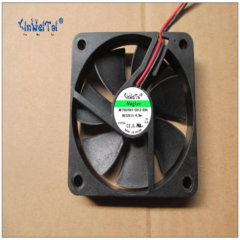 DC 12V 0.15A 2-wire 60mm 2PCS For AD0612HB-G70 T 60x60x10mm Server Square fan