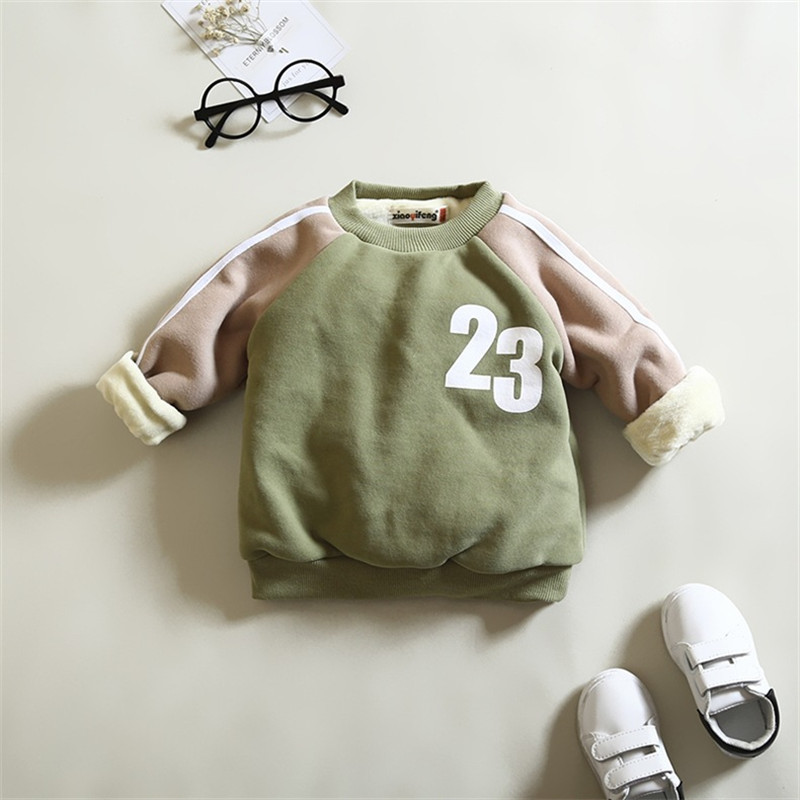 0-4 ages winter baby boy girl jacket 2017 new fleeced thicker warm baby jacket outerwear coat Sweatshirts baby boy girl clothes