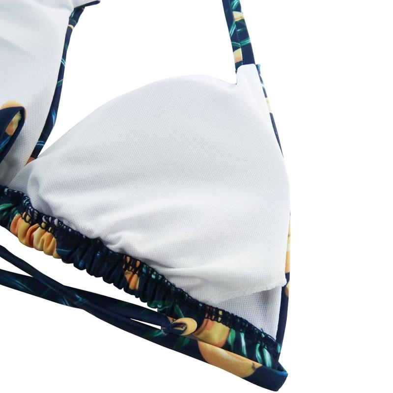 2018 Bikini жиынтығы Vintage жоғары белдеуі - Спорттық киім мен керек-жарақтар - фото 5