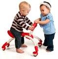 Moda bebés y niños pequeños bebé multifuncional walker con 4 ruedas 360 coche equilibrado 9-36 meses de bebé