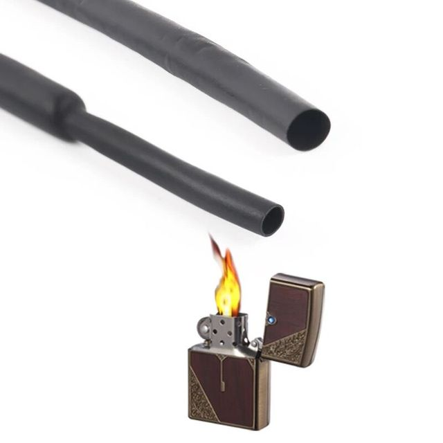 Waterproof Seal Heat Shrink Butt Terminals Solder Tape Charging Data Line Headphone Cable Repair Battery Wire Repair Cable