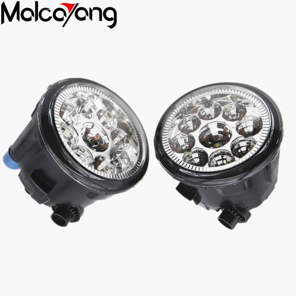 2 Pcs/Set Car-styling Front bumper light fog lamps For NISSAN X-Trail T31 Tiida Hatchback C11X Tiida Saloon SC11X 26150-8990B