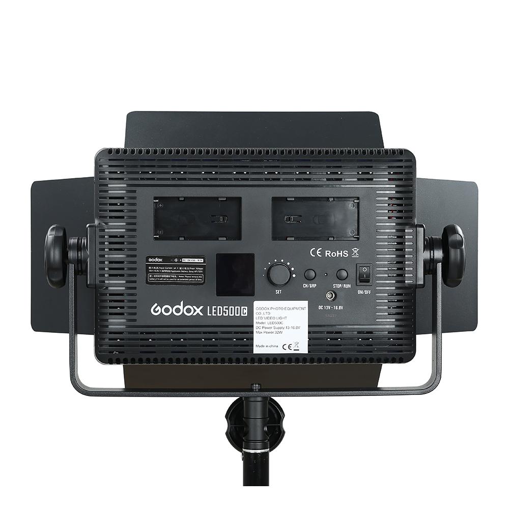 Godox LED500C 3300K~5600K Changeable Version LED Video Light (18)