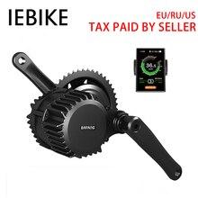 Бесплатная доставка 48V750W Электрический велосипед Conversion Kit Bafang BBS02 контроллер для электрических электровелосипед двигатель для велосипеда