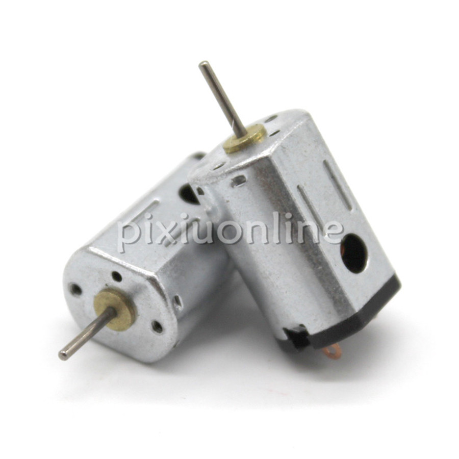 2pcs/pack J756 Model N21 3V 17000rpm Micro Model Airplane DC Motor Free Russia Shipping image