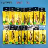 Tsurinoya 2018 novo produto 14 cores 5g/5 cm hard bait pequeno minnow manivela iscas de pesca baixo naufrágio pesca wobblers