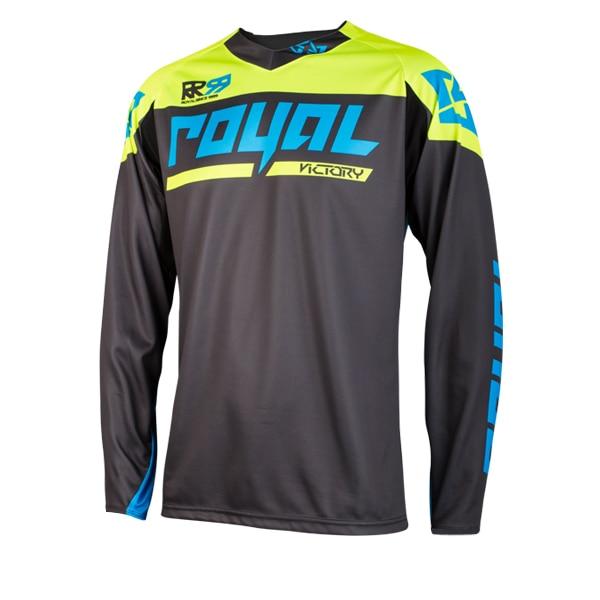 dcea7abe9 Royal Racing Men MTB MX DH Mountain Bike Jersey Motocross Motorcycle  Bicycle Cycling