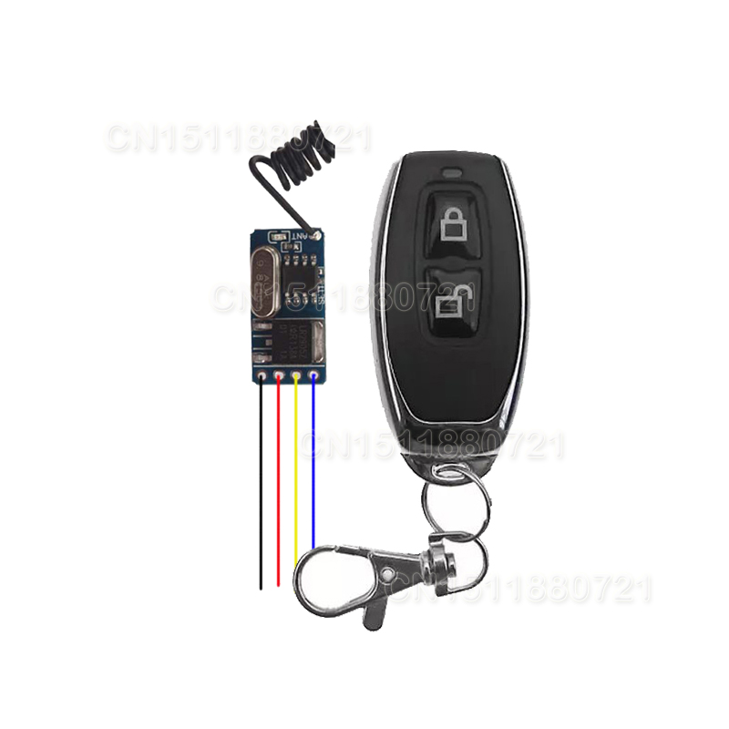 Micro Mini Remote Control Switch DC 3V 3.7V 4.5V 5V 6V 7.4V 12V Lithium Battery Wireless Switch Light Receiver PCBMicro Mini Remote Control Switch DC 3V 3.7V 4.5V 5V 6V 7.4V 12V Lithium Battery Wireless Switch Light Receiver PCB