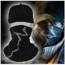 Watch Dogs Aiden Pearce костюм маска для лица Косплей шляпа Высокое качество