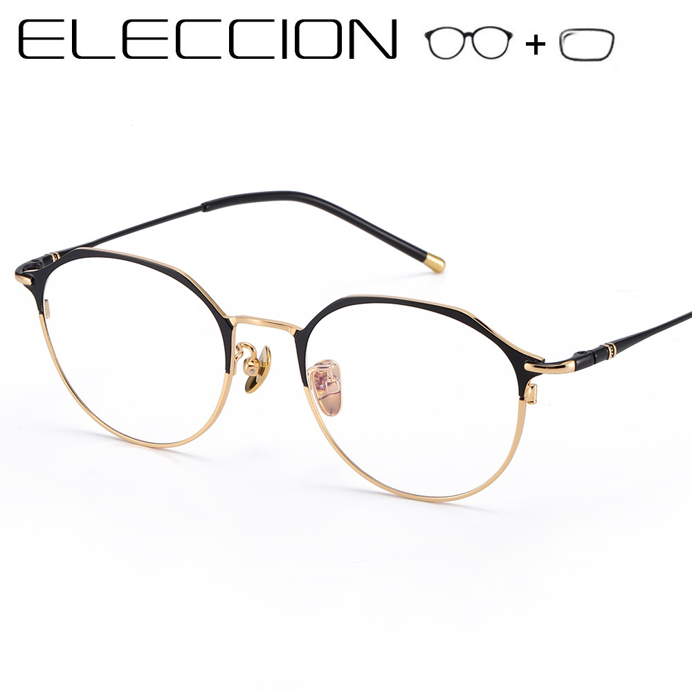 Correction Prescription Glasses Women 2019 Fashion Vintage Female Full Frame Round Optical Frame Myopia Eyeglasses With Diopter(China)
