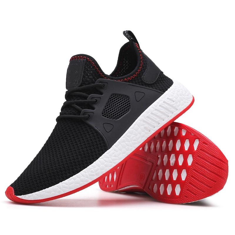 Men Weaving Fly Mesh  Soft sneakers 2