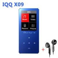 MP4 Player 8G Speaker Metal With Built In Speaker Hifi Player Hifi Speaker Fm IQQ X09