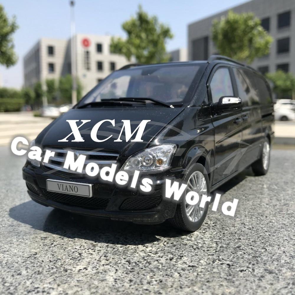 Diecast Car Model for Viano Business Car MPV 1 18 Black SMALL GIFT