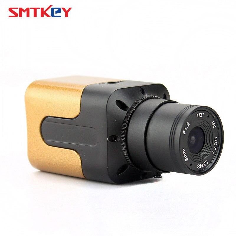 imágenes para 720 P o 960 P 1.0MP AHD Pequeña MINI Cámara de CAJA o 1.3MP AHD CCTV Cámara Resolución HD MINI Cámara AHD seguridad cámara