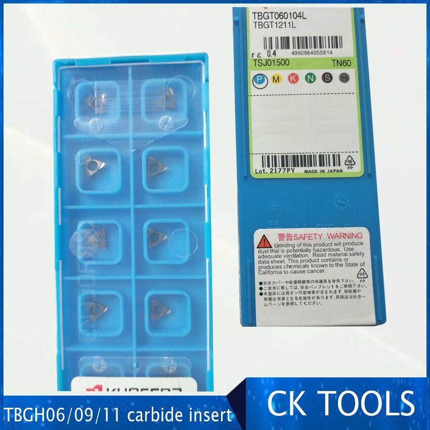 Tomadas de Fábrica Chato para Aço Rápida de 10 Inserção Pces Tpgh110304 Tbgh06 Máquina Cnc ou Metal Macio Tbgt060104 Pr930 Tbgt06