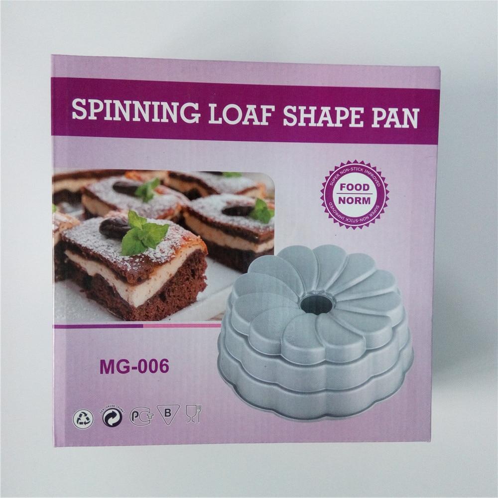 ขายส่ง Spinning Loaf เค้กกระทะอลูมิเนียมหล่อหนักรูปแบบเบเกอรี่ DIY เค้ก Nonstick เบเกอรี่เครื่องมือสำหรับเค้ก บน AliExpress - 11.11_สิบเอ็ด สิบเอ็ดวันคนโสด 1
