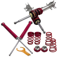 COILOVER For Fiat Grande Punto 1.2, 1.4, 16V, 1.3D, 1.4T Jet, 1.9D 05 12 (199) Coilovers Adjustable Coil Spring Over Struts