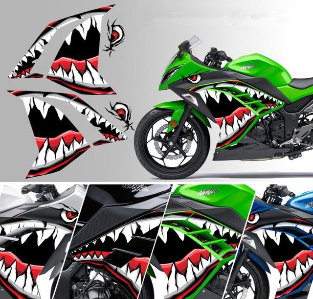 For Kawasaki Little Ninja Z250 300 Applique Refit Stickers Racing