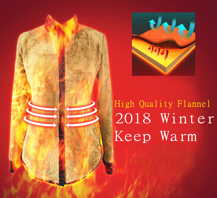 Sleeve Warm Tops 2018 4