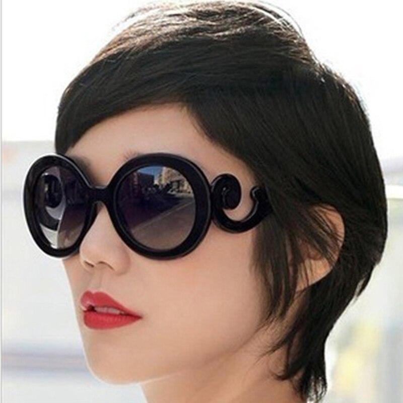2019 mode surdimensionné dégradé lunettes De Soleil femmes mode noir rétro lunettes De Soleil pour les femmes De haute qualité Vintage Lunette De Soleil