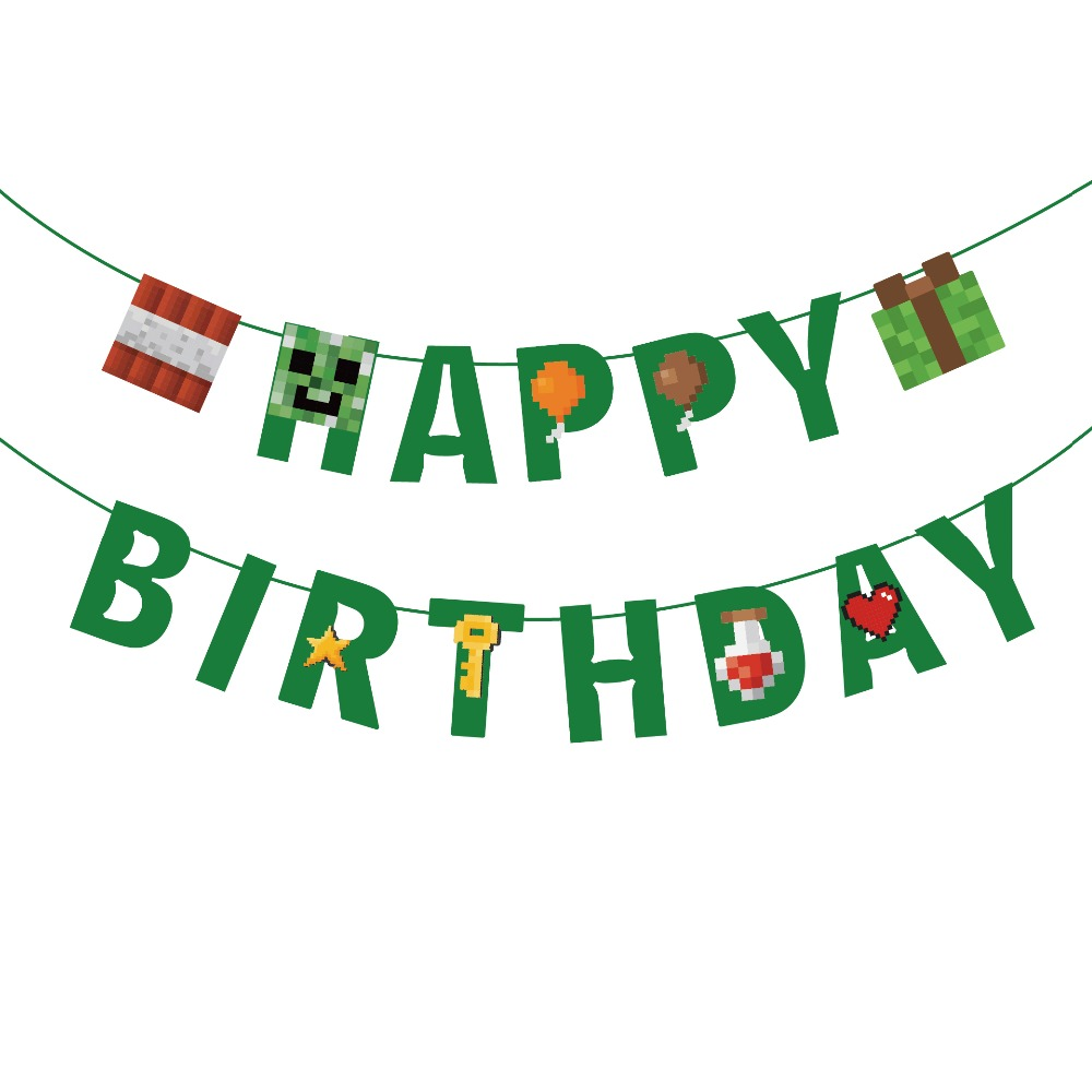 Happy Dad/'s Day Bunting Banner Dad/'s Birthday Party Banner Hanging Decor
