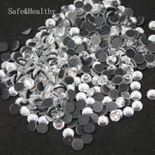 Crystal SS6- SS10  Machine Glass Material DMC Hotfix Rhinestones Flatback For Clothing Decoration