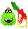Free shipping,New Arrival Extra large Frog bag water gun high pressure water gun toy water gun large adult water HT390