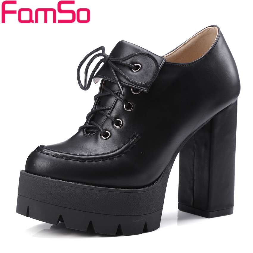 Plus Size34 43 2016 Shoes font b Women b font Gladiator Pumps Shoe Black Gray High